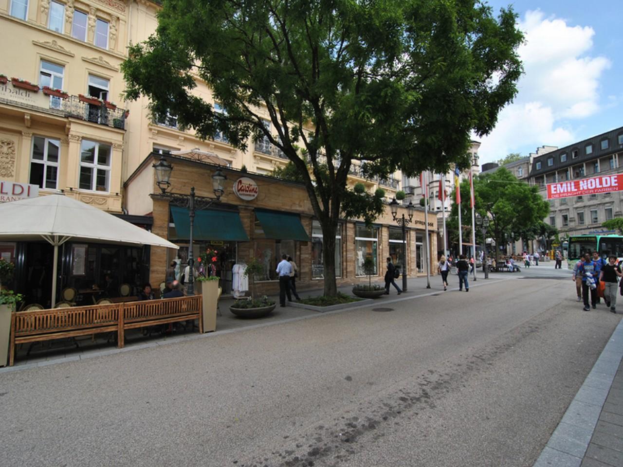 Ladengeschäfte direkt am Leopoldsplatz