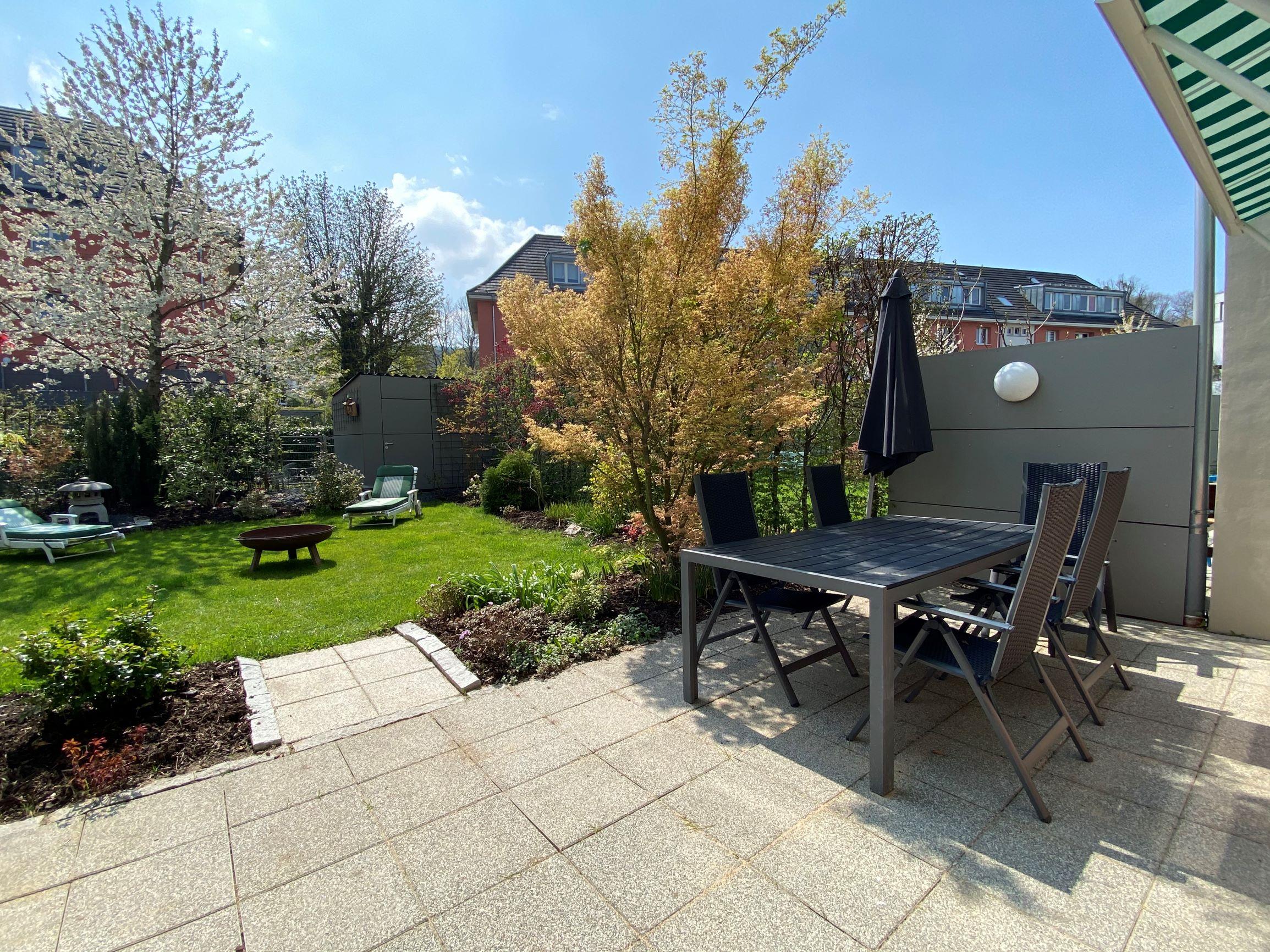 Moderne Eigentumswohnung mit Garten  in citynaher Wohnlage
