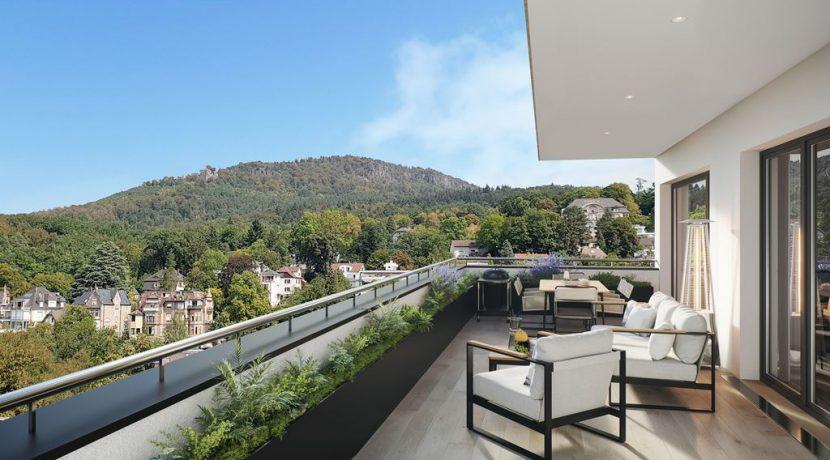 große Terrasse neu